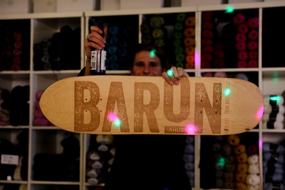 Jesper custom skateboard