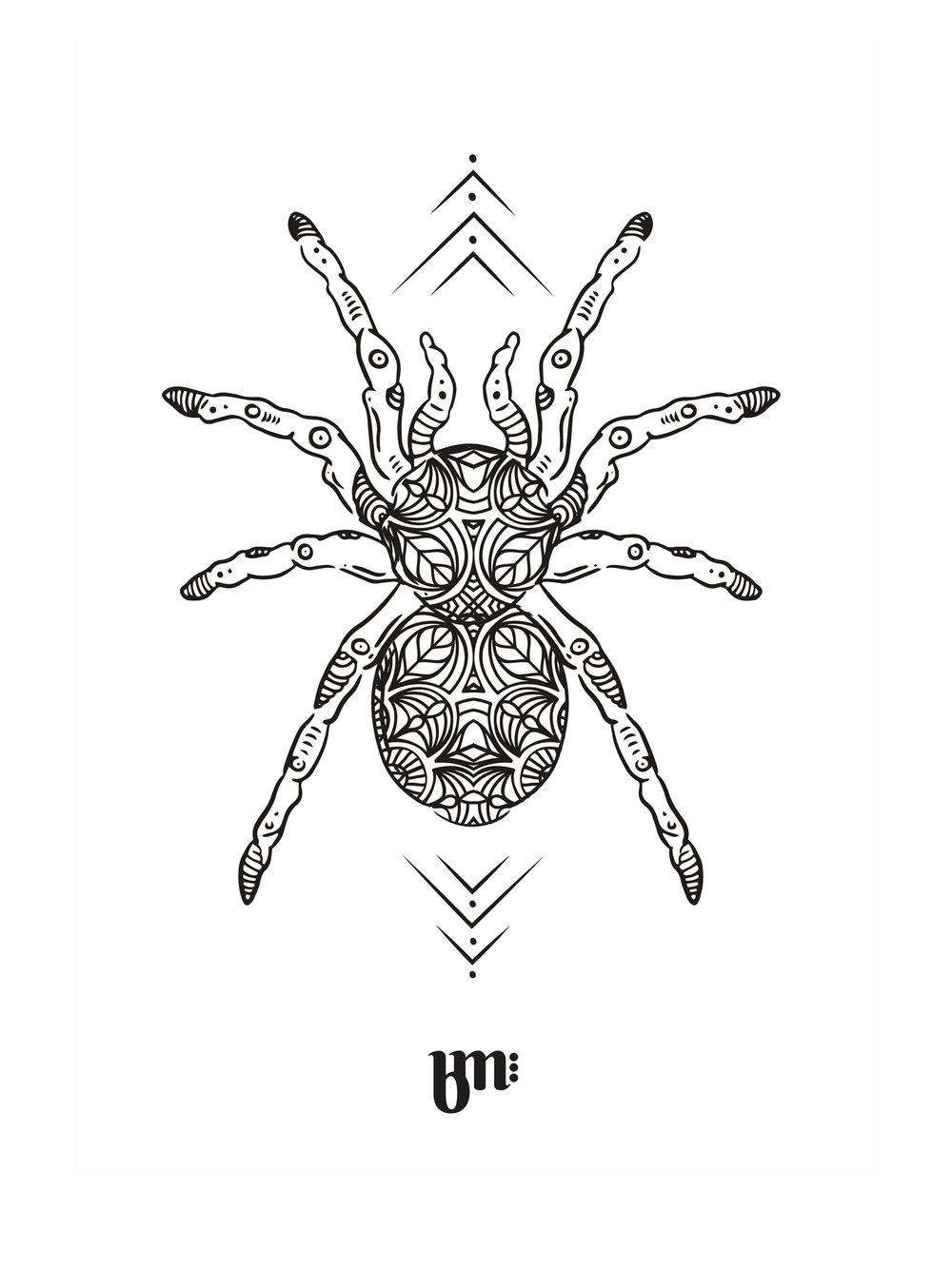 Le fichier original réalisé sur tablette graphique par Bénédicte