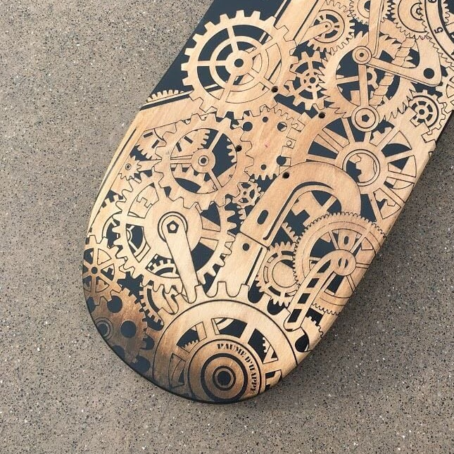 personalise skateboard