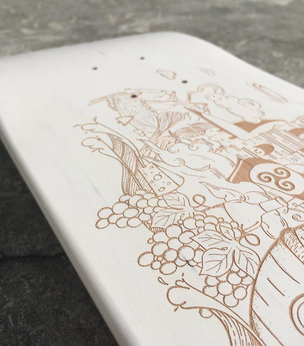 skateboard custom
