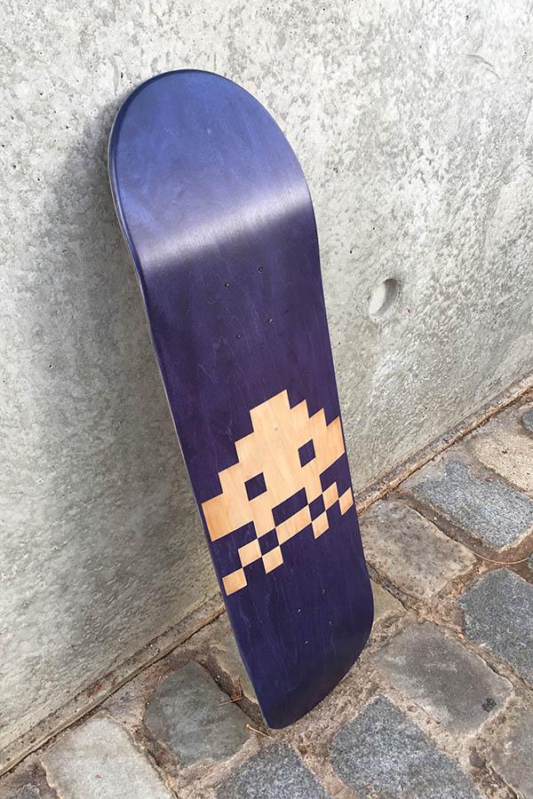 Hélène's custom skateboard