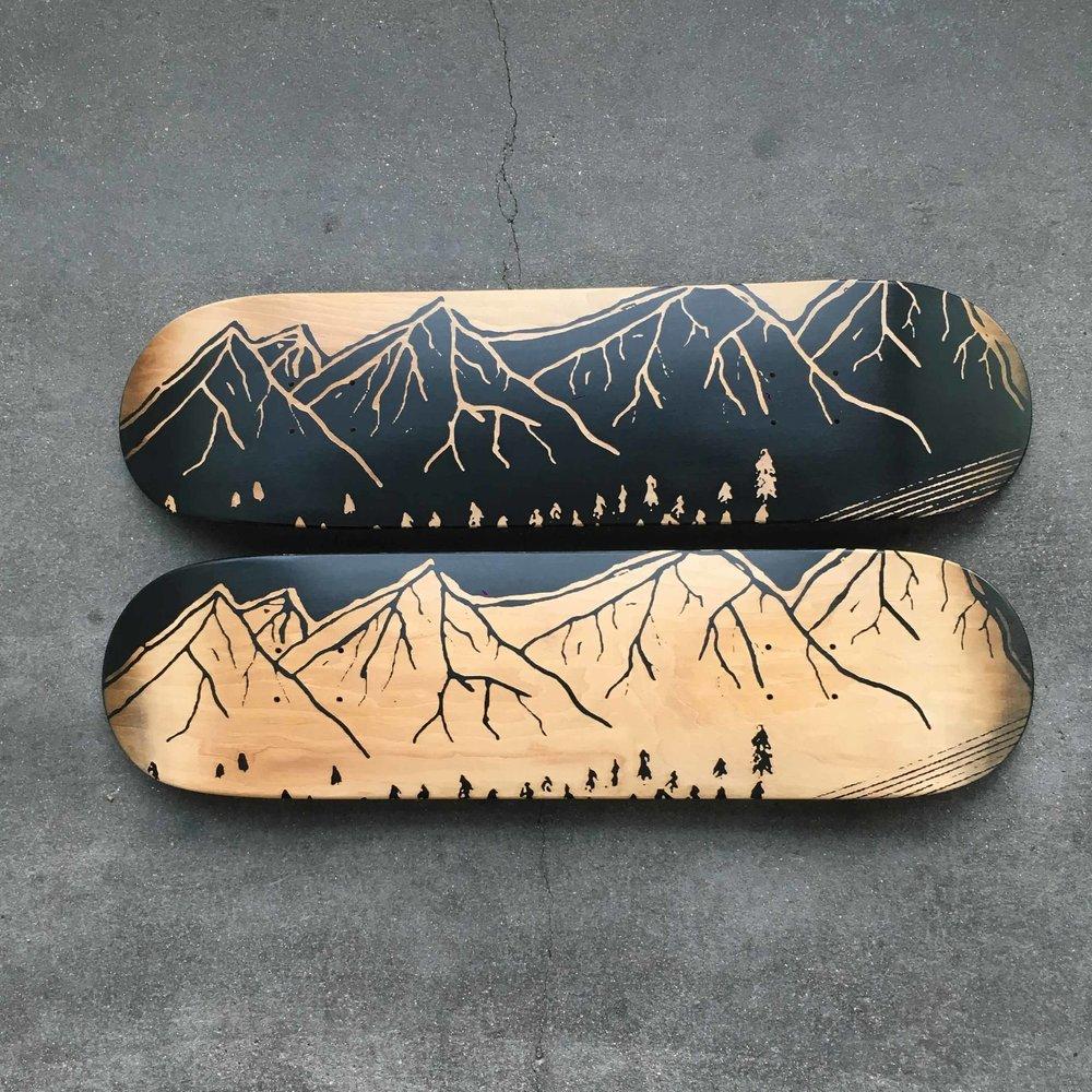 customisation skateboard