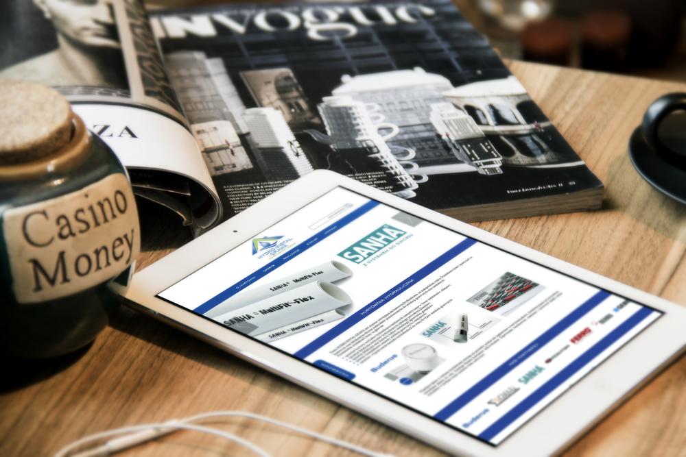 Kompleksowe przygotowanie + wdrożenie strony internetowej wraz ze sklepem internetowym  www.hydroinstalorawa.pl