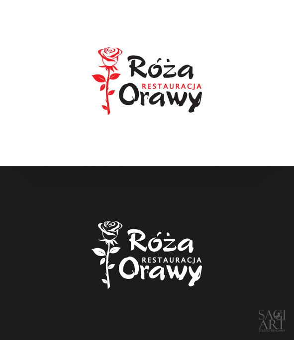 Przygotowanie logotypu dla restauracji wraz pełną identyfikacją oraz komunikacją wizualna
