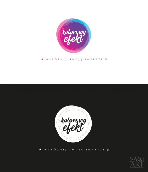 Przygotowanie logotypu wraz wersjami monochromatycznymi oraz negatywem