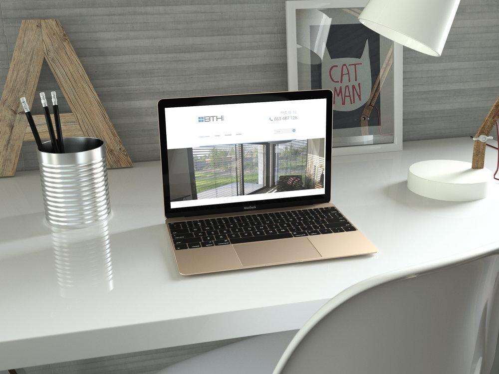 Przygotowanie graficzne i wdrożenie systemu dla strony  www.bth-activ.pl