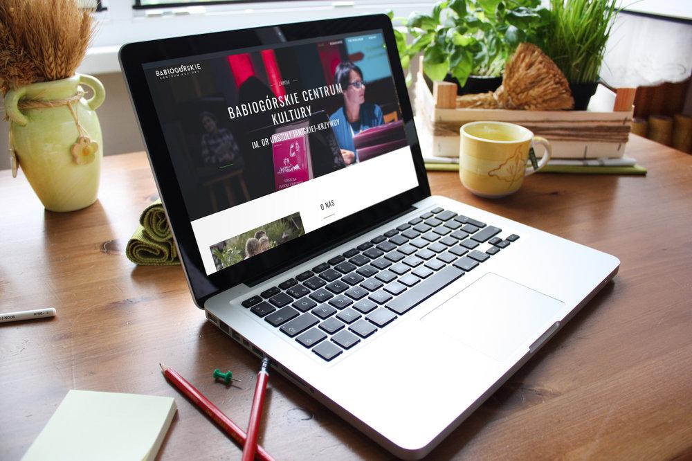 Przygotowanie graficzne i wdrożenie systemu dla strony  www.bck-zawoja.pl