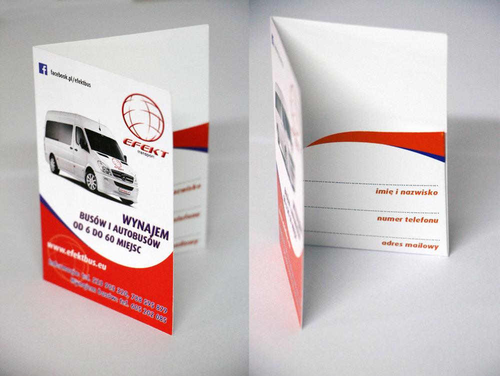Projekt oraz druk etui wraz z kieszonką