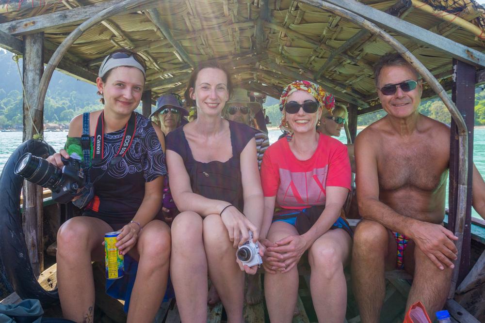 Steffi, Andrea, Carmen and Siegbert