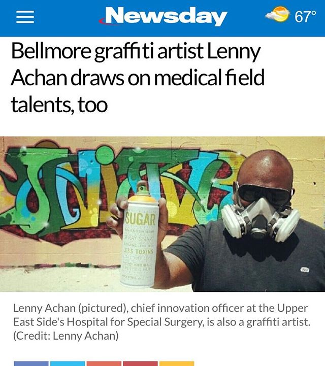 Thank you @Newsday - Honored to be the cover feature in this Sunday's Life section! #fineart #contemporaryart #nyc #canvas #graffitiart #streetart #urban #wallart #spraypaint #mural #murals #painting #artwork #artshow #artgallery #modernart #abstract #sculpture #artnews  #dogs  #origami #artcollector #lennyachan visit www.lennyachan.com