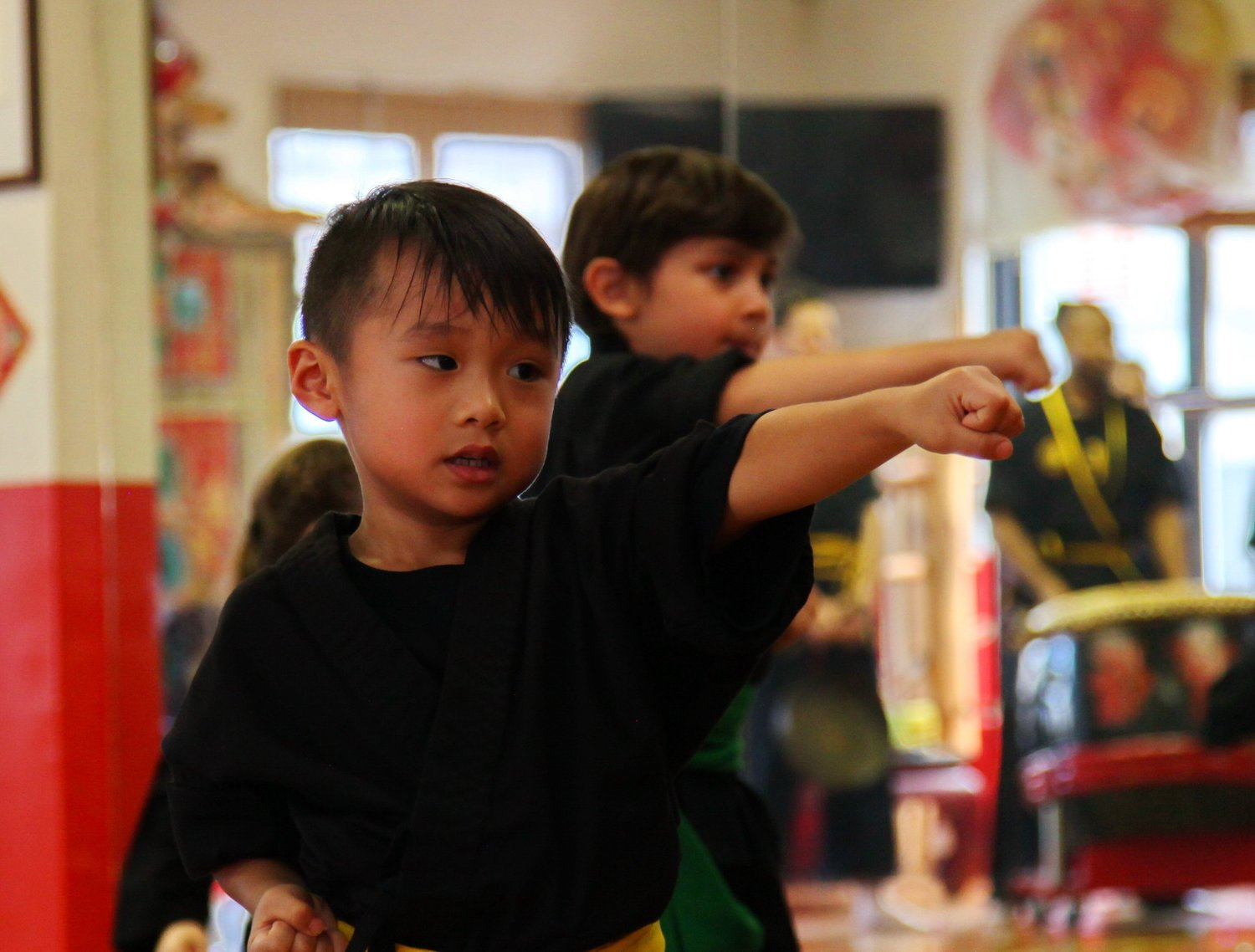 Kung Fu For Kids A Positive Path Bo Law Kung Fu