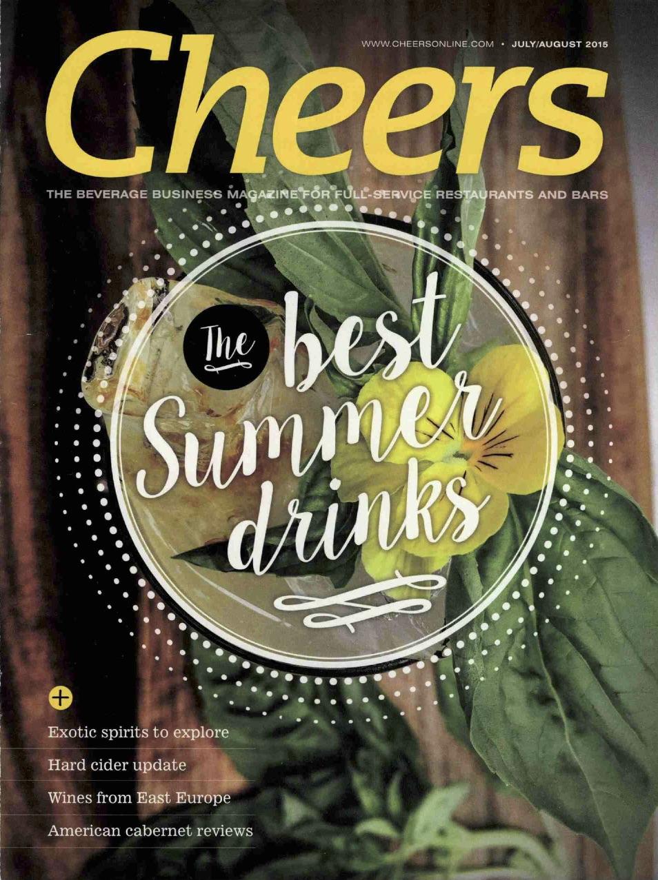 Cheers Magazine | August 2015