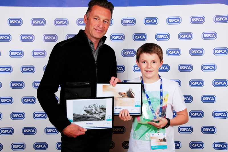 will jenkins and chris packham at RSPCA awards