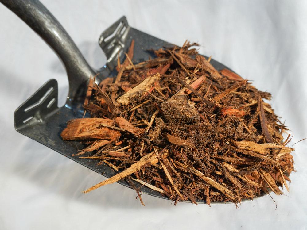 Cedar Mulch - $40 per cubic yardPure, shredded Cedar Mulch.