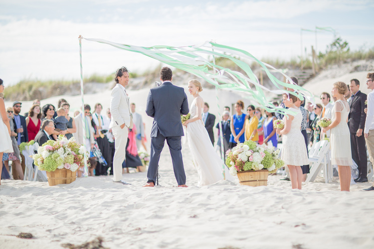 Hamptons Wedding on the Beach