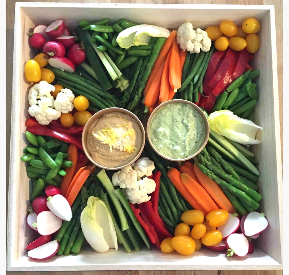 Fancy Cut Crudites