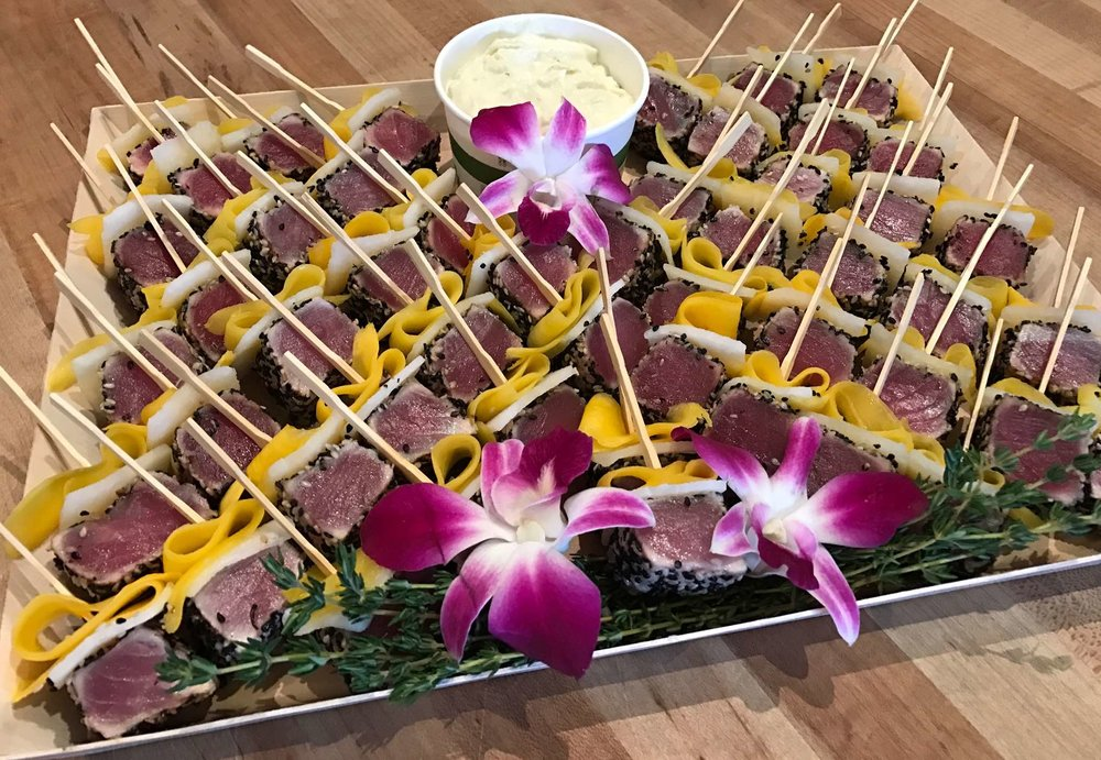 Copy of Ahi Tuna Skewer - Drop Off Catering by Dish
