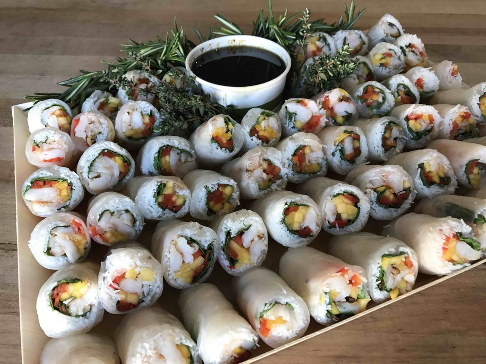 Copy of Summer Rolls - Drop Off Catering by Dish Food & Events