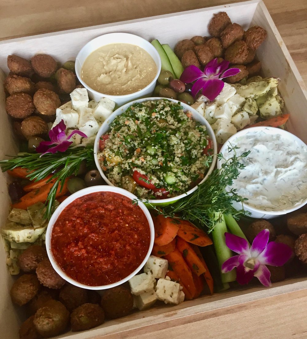 Copy of Mediterranean Mezze - Drop Off Catering by Dish