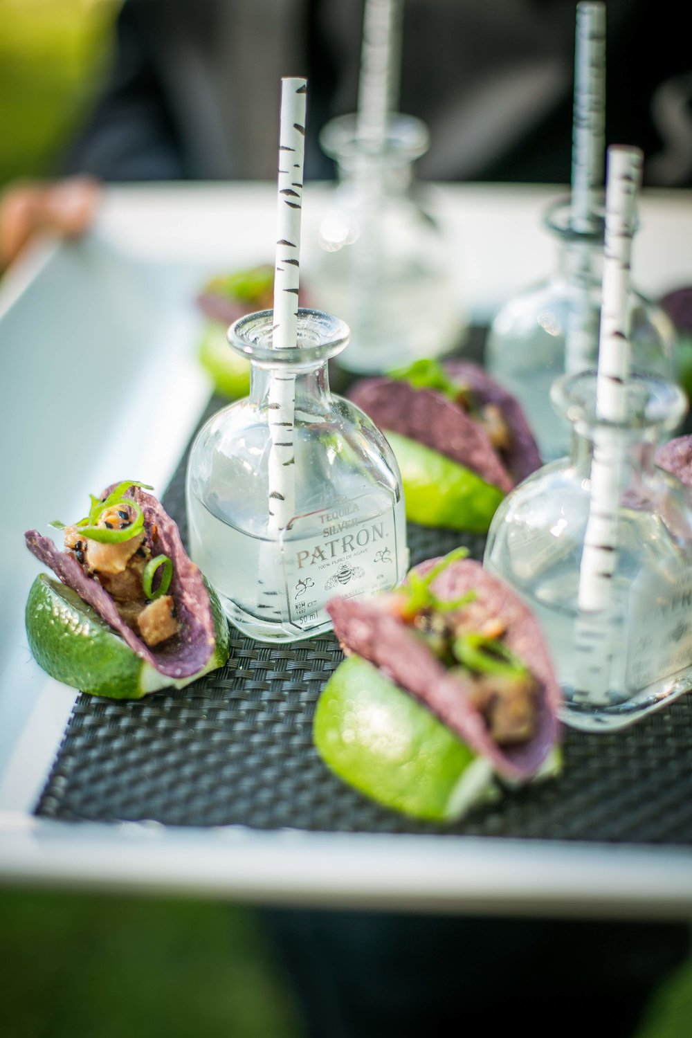 Mini Tacos and Mini Margaritas by Dish Food & Events