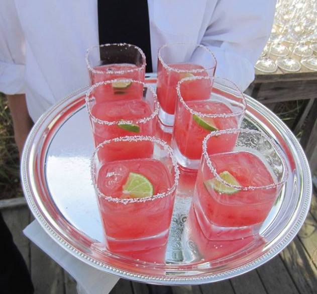 Watermelon Margaritas by Dish Food & Events Catering