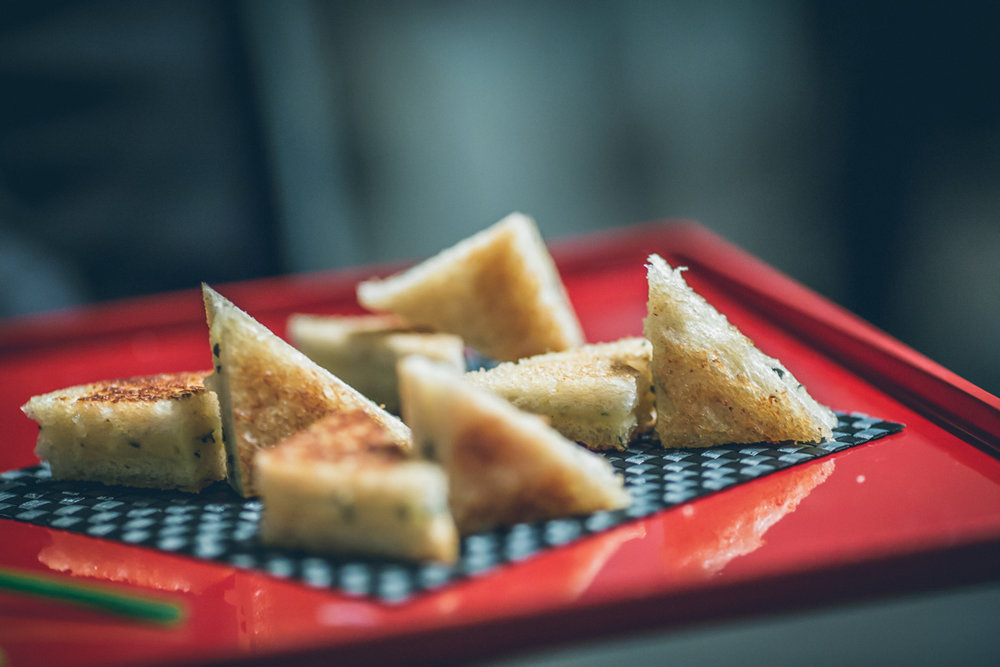 Fontina & Sage Mini Grilled Cheese by Dish Food & Events Catering