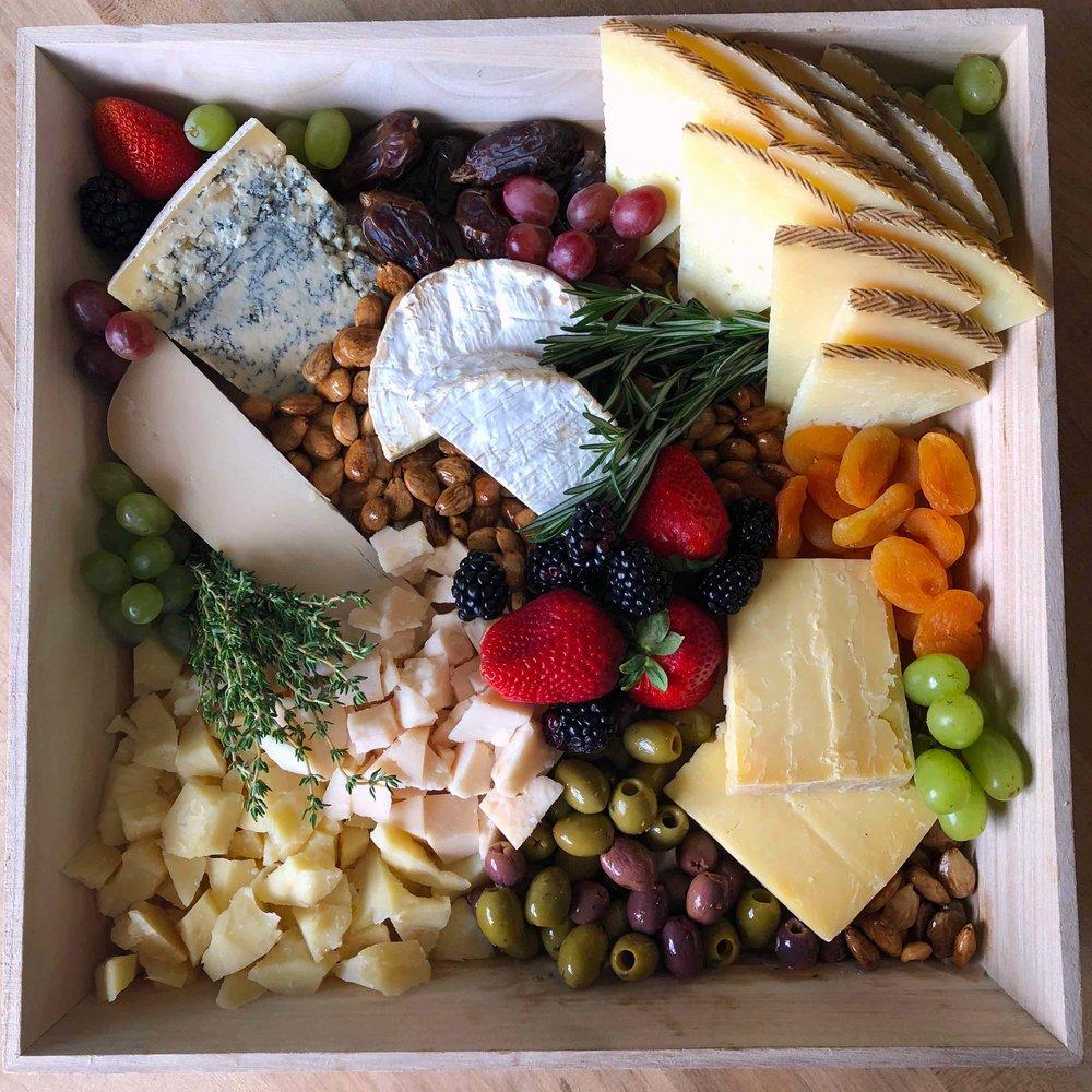 Artisanal Cheese Board