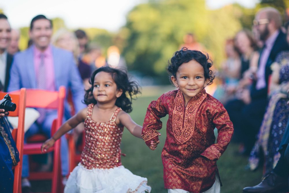 Indian Wedding Processional Kids