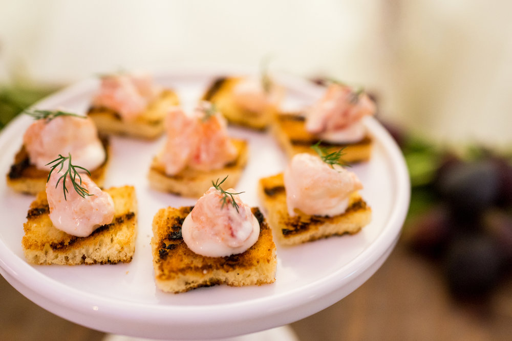 Lobster Toast by Dish Food & Events Catering