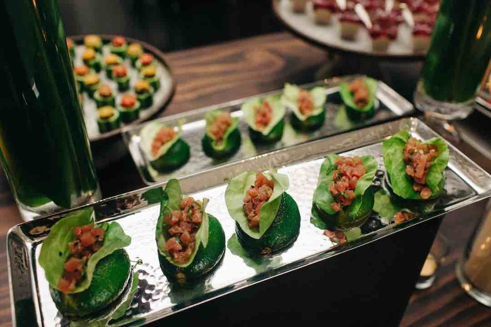 Ahi Tuna Poke Cups by Dish Food & Events Catering