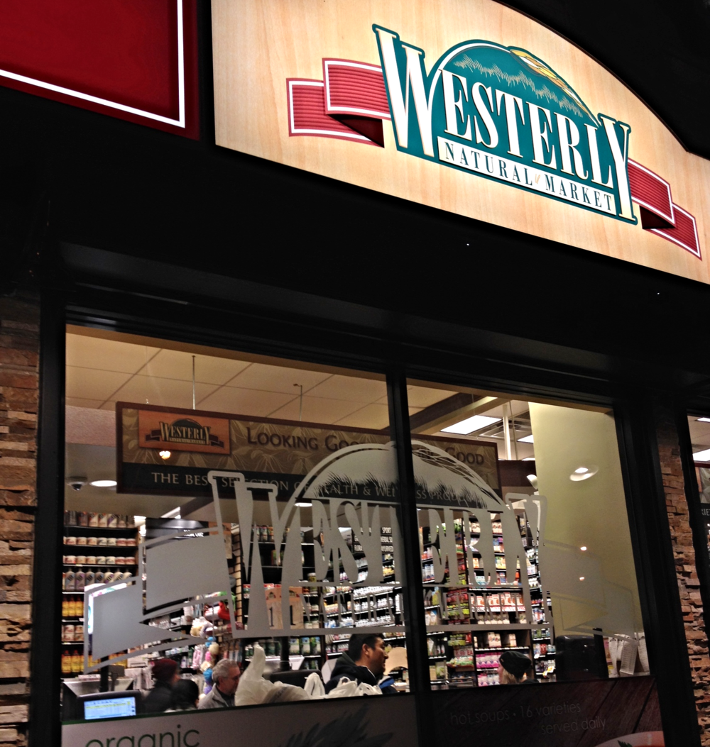 One of my favorite neighborhood natural markets - Westerly!