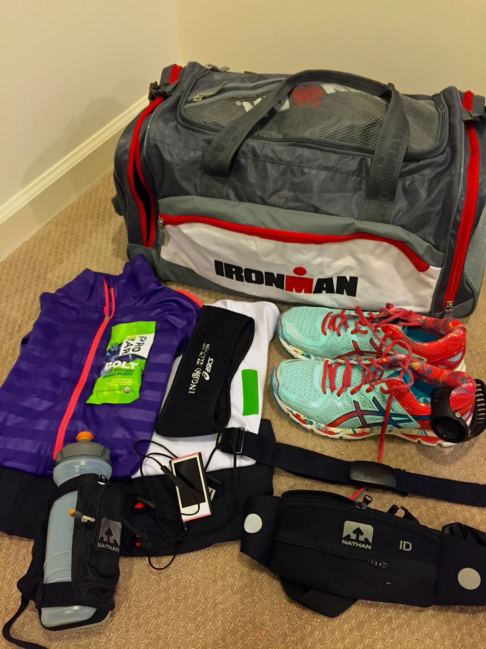 Gear all set for a long run that never came.