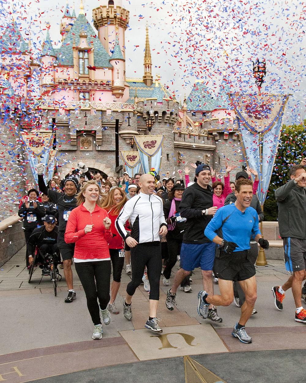 The kickoff from Disneyland, Feb. 25, 2011.