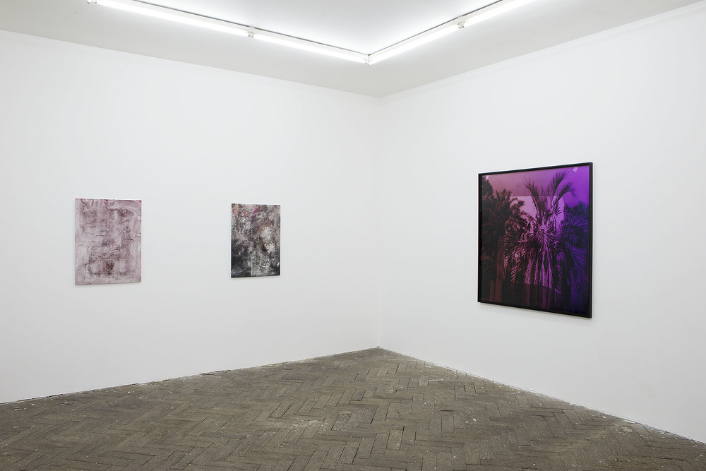 Installation view, Sweating like a whore in a church, Galerie Jeanrochdard