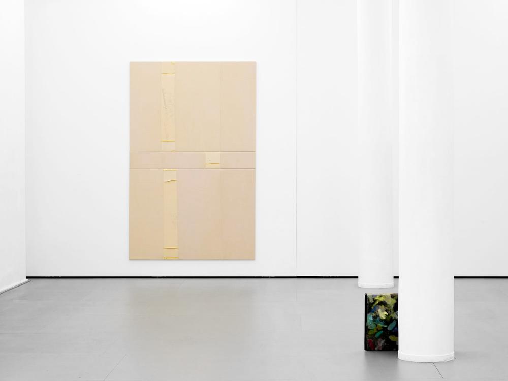 Installation view,  Threesome , Berthold Pott