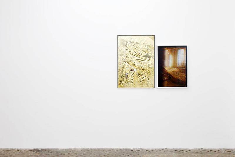 Installation view,  For your love, Galerie Jeanrochdard ( Samuel François (left) Benoit Plateus (right) )