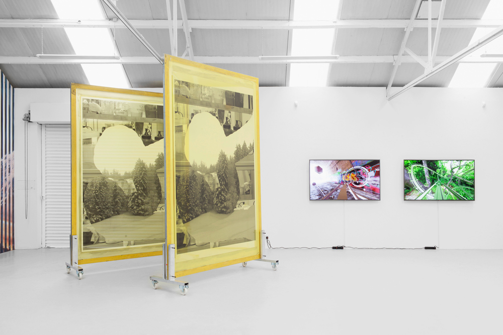 Installation view, Constructed culture sounds like conculture, Ellis King