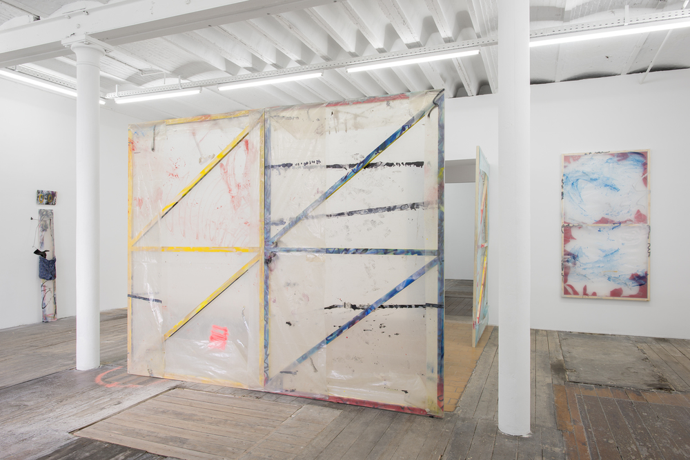 Installation view, Raise high the roof beam, carpenters, monCHÉRI