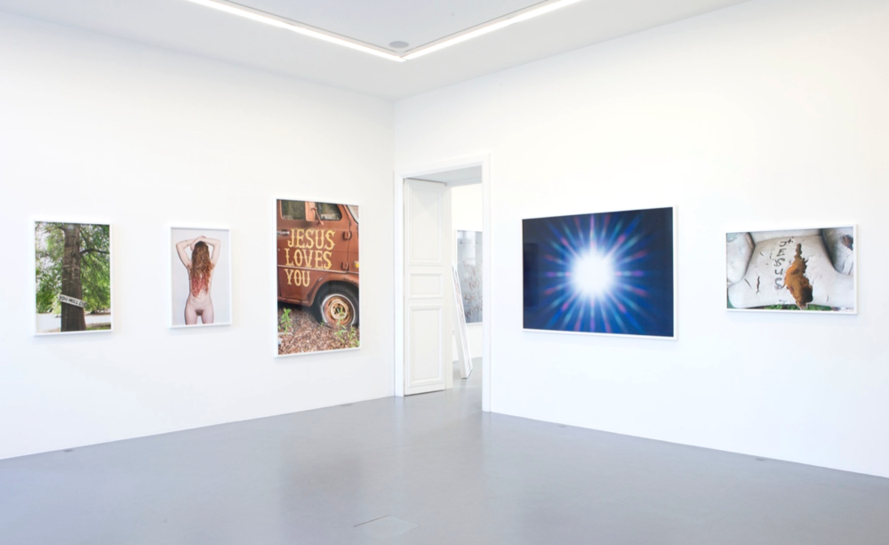 Installation view, The Sacred and The Profane, Galerie Perrotin
