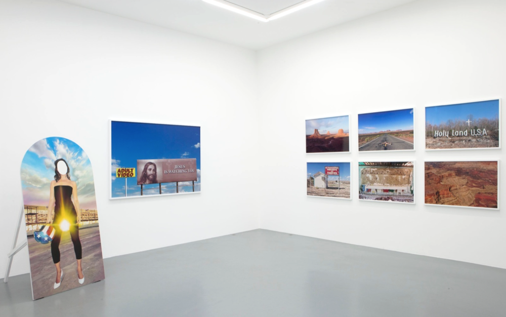 Installation view,  The Sacred and The Profane , Galerie Perrotin