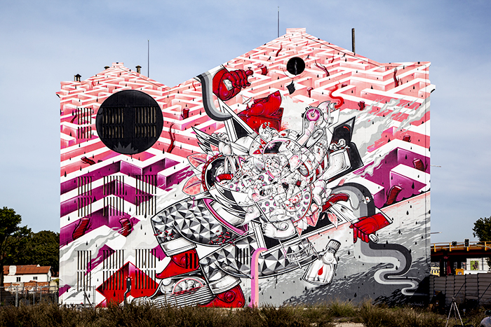 How and Nosm, Underdogs Public Art Program, Lisbon