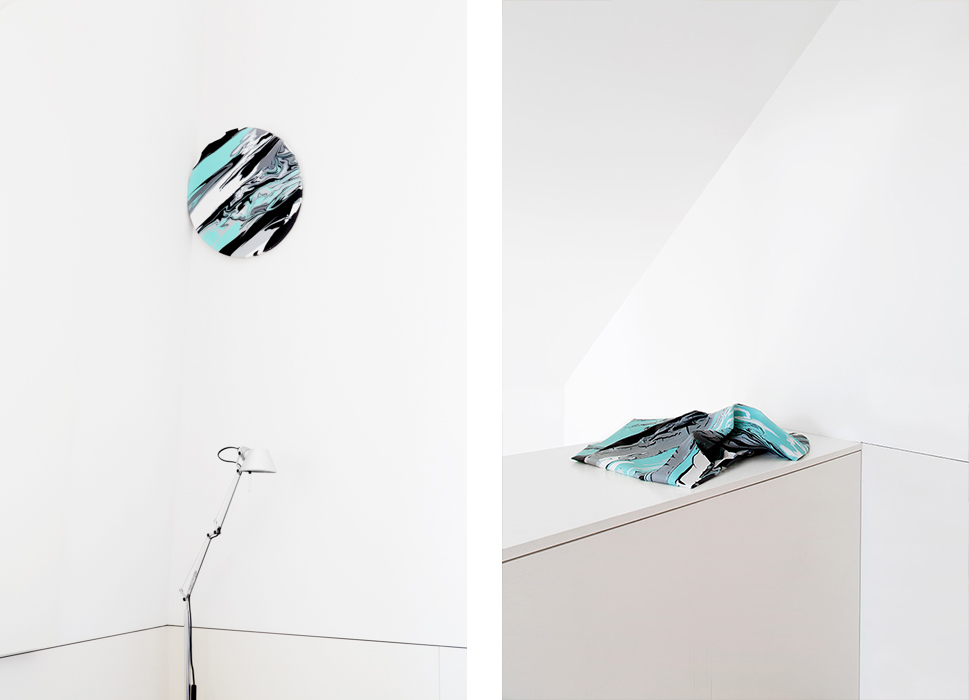 Installation view, Paulo Arraiano