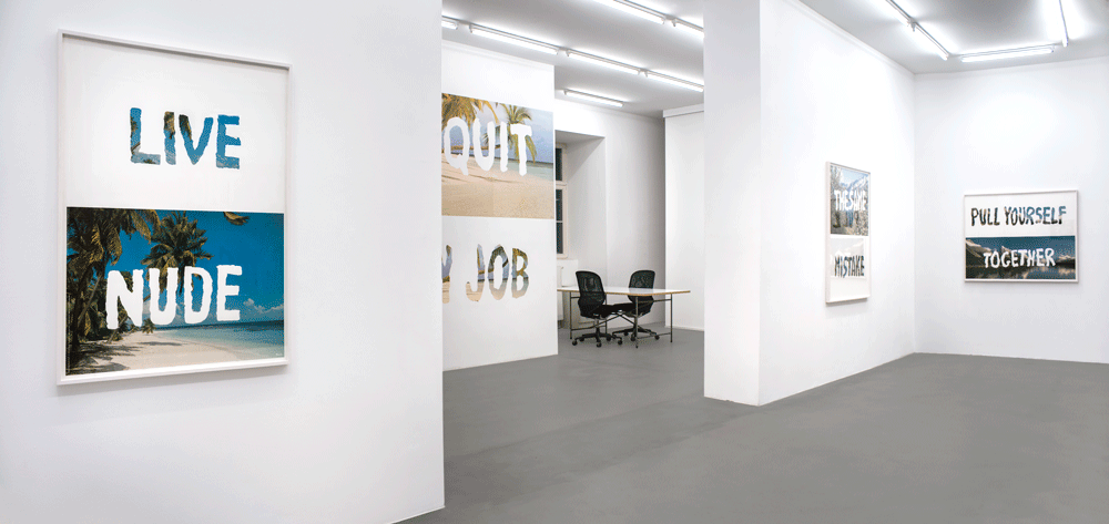 Installation view,The Same Mistake, Croy Nielsen