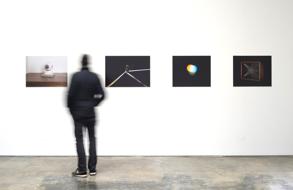 Installation view,COSMOS _ about Art, Science and Optics, Galeria Baginski