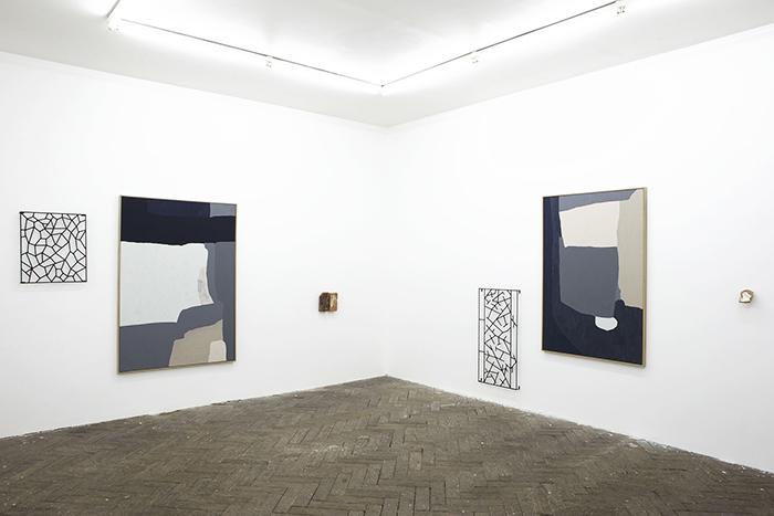 Installation view,  En Flânant... , Galerie Jeanrochdard