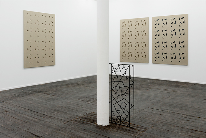 Installation view,  Like/Share , Galerie Jeanrochdard