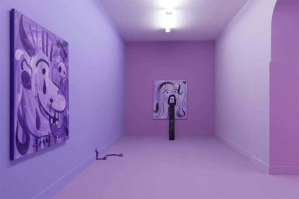 Installation view,   Fatal Dad  , Brand New Gallery