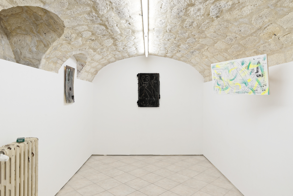 Installation view,   Zombie Routine  , New Galerie
