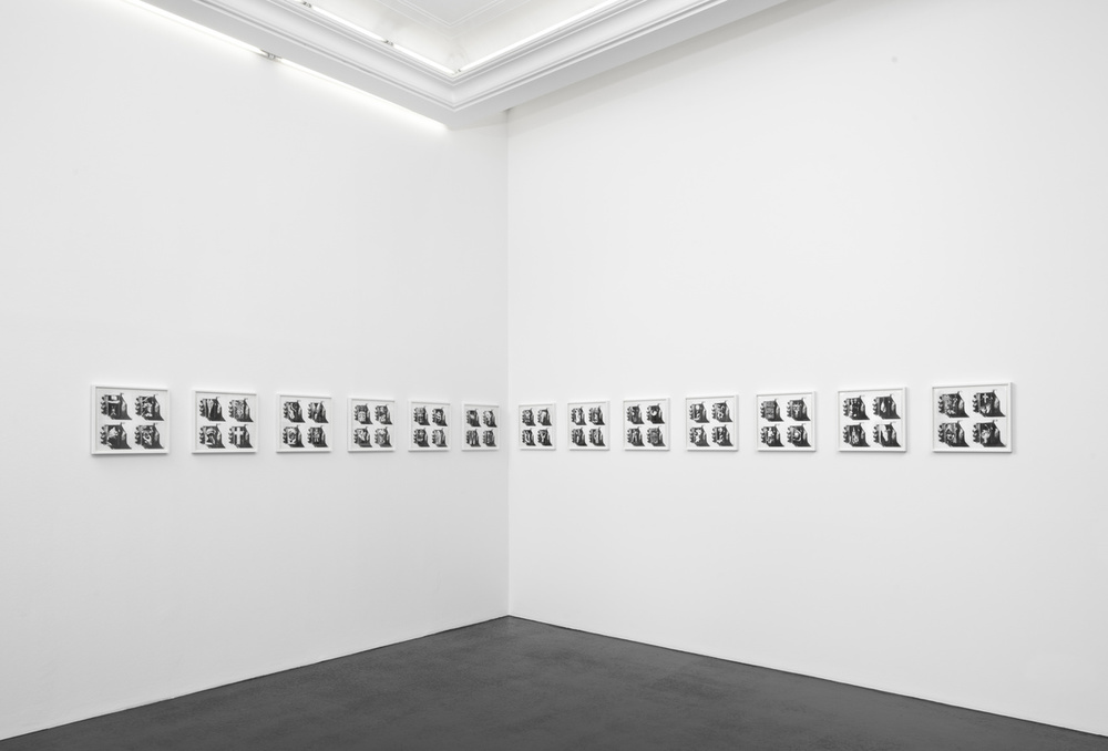 Installation view,   Serialize  , Peres Projects