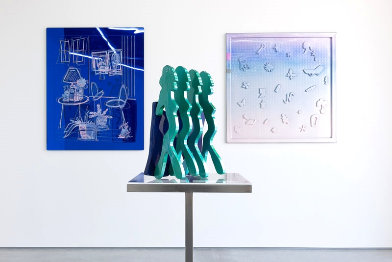 Installation view, Blue Pacific, Rod Barton